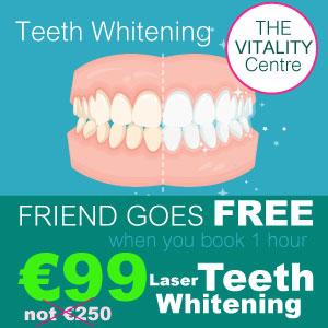 Laser Teeth Whitening Dublin Special Friends Offer